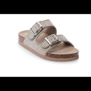 ad1d5441b277 Madden Girl Shoes | Glitter Jelly Slides Sandals Size 13 | Poshmark